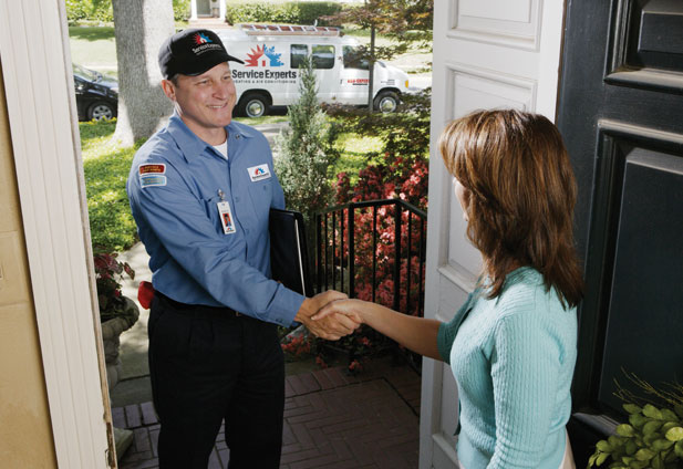 in-home estimate from Chief / Bauer Service Experts Heating & Air Conditioning